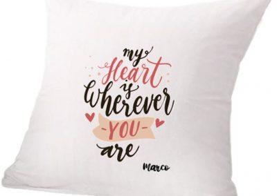 cuscino san valentino