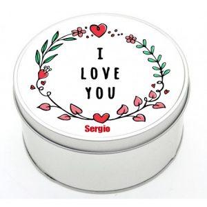 scatola rotonda san valentino
